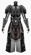 Fujin-seven black dragon armor-male
