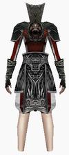Fujin-emperor armor-female-back