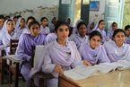 Girls in school in Khyber Pakhtunkhwa, Pakistan (7295675962)