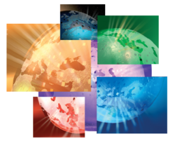 Euronews logo globe