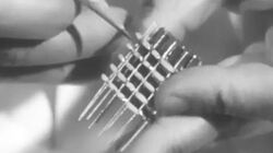 Project Tinkertoy (IC Precursor) 1953 US Navy; Automated Manufacturing of Modular Electronics