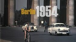 Berlin 1957 - 1960 color - Berlin Ost & West vor dem Mauerbau - Berlin East & West without wall-0