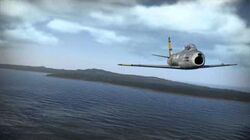 War Thunder - Chasing with a Sabre F-86F-2