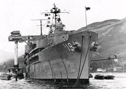 USS Proteus USS Partick Henry HolyLoch 1961