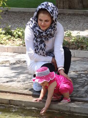 Mother and Daughter at Bagh-e Jahan Garden - Shiraz - Western Iran (7426576284)