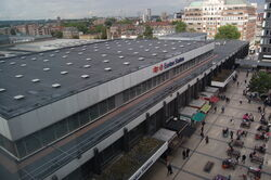 Euston Station from above - 01