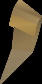 Torn clue scroll (part 3) detail
