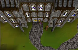 Paterdomus Church Entryway