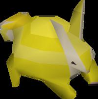 Baby chinchompa (gold) pet