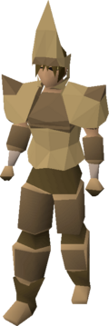 Splitbark armour equipped
