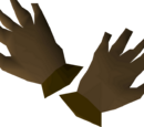 Bronze gloves