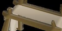 Banner easel