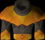 Pyromancer garb detail