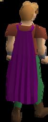 Fremennik purple cloak equipped