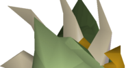 Green slayer helmet