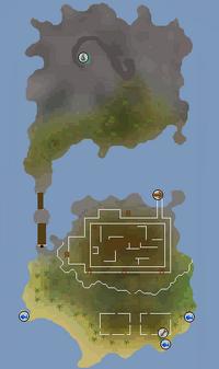 Braindeath Island Map