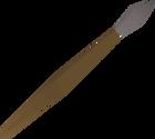 Steel javelin detail