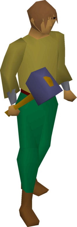 File:Mithril warhammer equipped.png