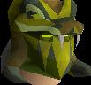 Serpentine helm chathead