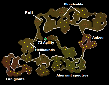 Stronghold Slayer Cave map