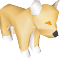 Lion toy detail