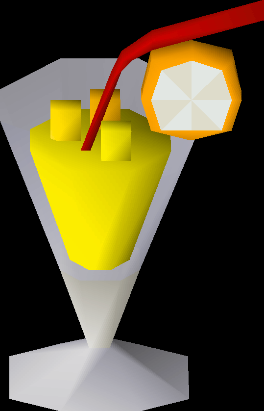 Pineapple punch detail