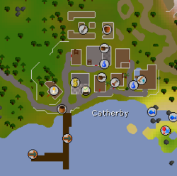 Catherby map
