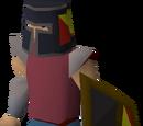 Black shield (h1)