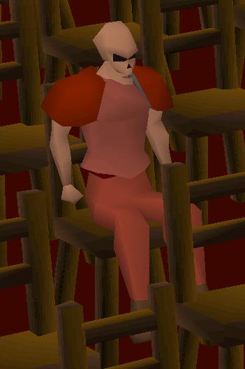 Strange watcher (red)