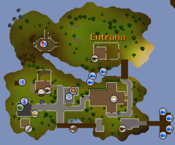 Entrana map