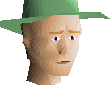 Green hat chathead