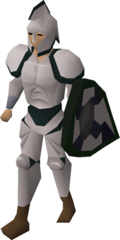 3rd age melee armour equipped