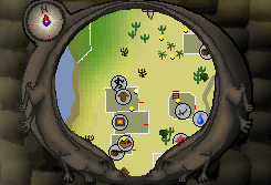 Al Kharid Agility Course Map