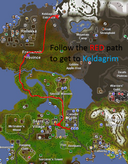 Getting to Keldagrim