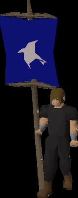 Banner (Arrav) equipped