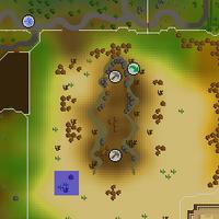 Hot cold clue - Al Kharid Mines map