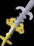 Saradomin godsword (or) detail