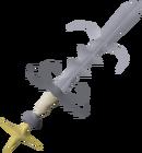 Saradomin godsword detail