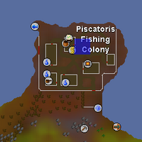 Hot cold clue - Piscatoris Fishing Colony map