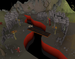 Chasm of Fire entrance