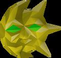 Mask of balance detail
