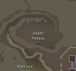 Death Plateau map