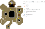 Temple of Marimbo first floor map