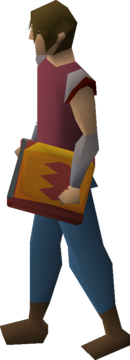 Tome of fire equipped
