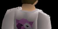 Bob's purple shirt