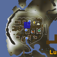 Hot cold clue - Lunar Isle map