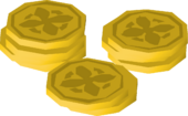 Coins high detail