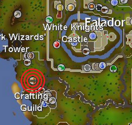 Crafting Guild balloon map