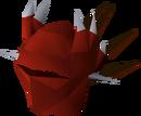 Dragon full helm detail