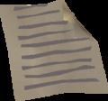 Dark manuscript detail